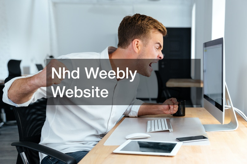 Nhd Weebly Website