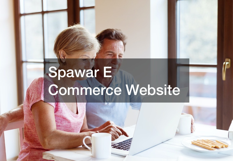 Spawar E Commerce Website