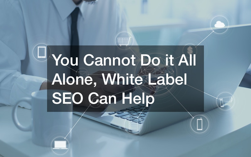 You Cannot Do it All Alone, White Label SEO Can Help